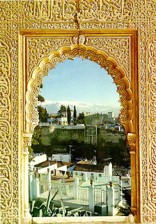 Vista de Granada desde La Alhambra