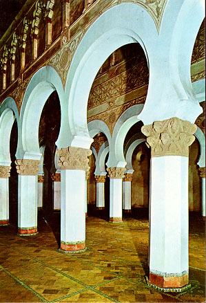 Toldeo. Sinagoga. Santa María la Blanca